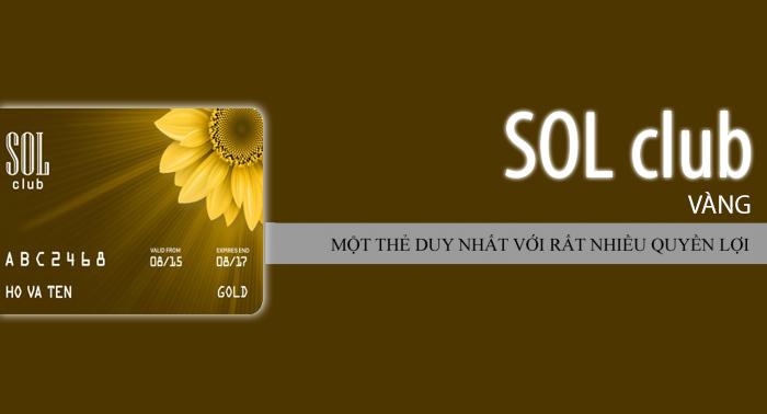Thẻ Sol Club Vàng