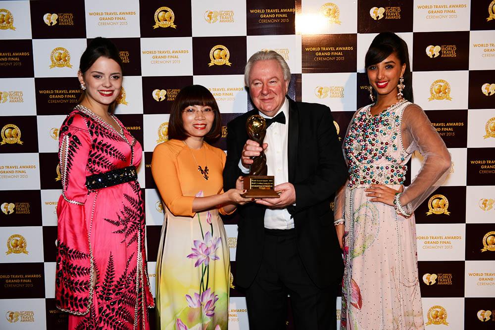 Intercontinental Đà Nẵng world travel award