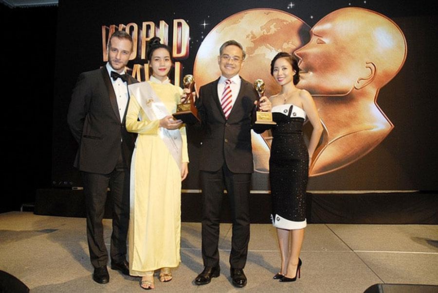 Intercontinental dat giai word travel award